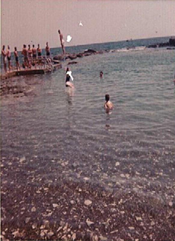 BO, Divingboard, Windmill Beach, 1965