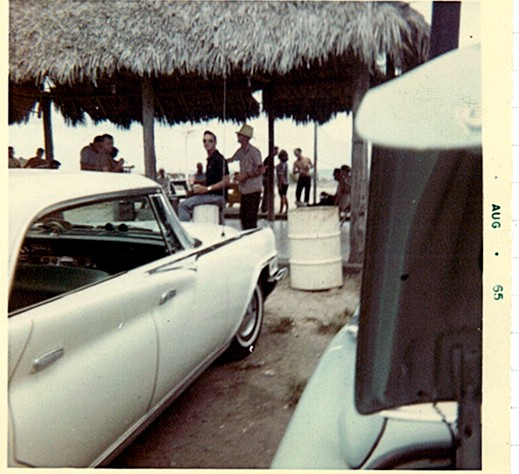 BO Party Cabana, Windmill Beach, 1965