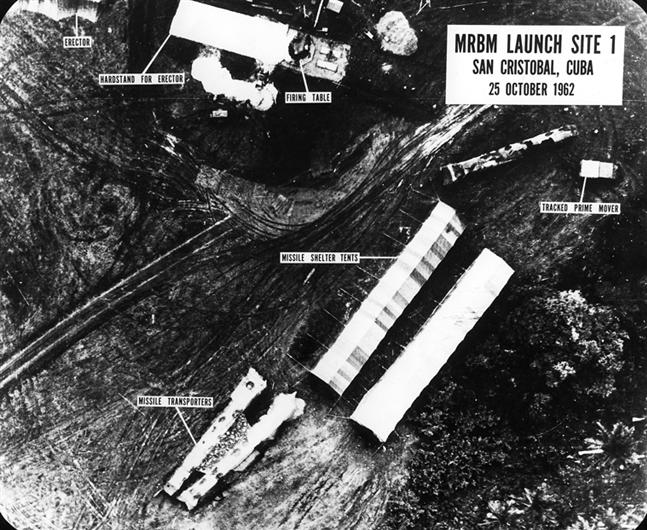 DOD, MRBM Launch Site, October 25,1962