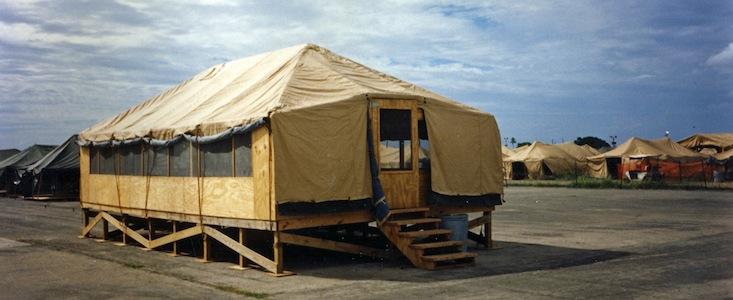 Model of more livable camp HA (1)