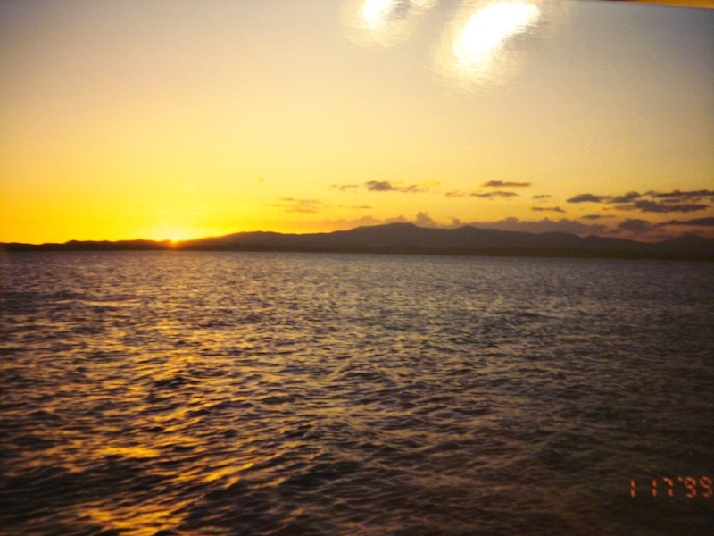 Sunset on GTMO, taken by Kenneth Pace