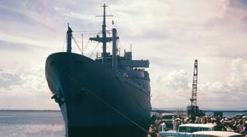 Wkc Evacuating Guantanamo during the Cuban MissileCrisis, 1962